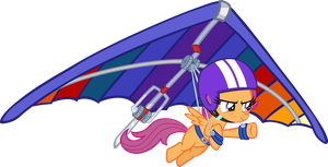 Scootaloo Hanggliding by tygerbug