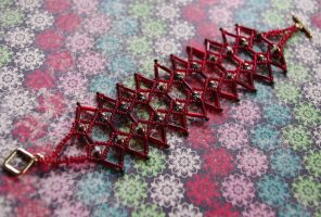 lattice bracelet by exoplastic