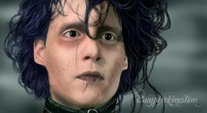 Edward Scissorhands by vampirekingdom