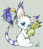Gatomon by Shivita