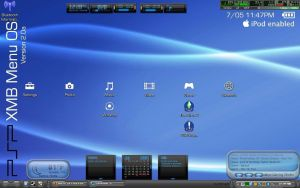 PSP Interface Desktop by timesplitter88