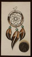 Commision: Dream Catcher Design - Colour by artisticrender