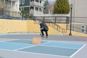 The Skateboarder Trick, Up and Over by Miss-Tbones