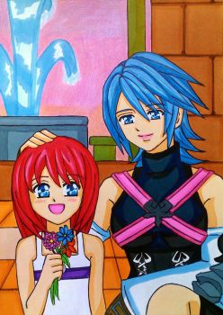 Aqua and Kairi: a predestined meeting by dagga19