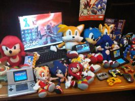 My Collection Again by sonictopfan