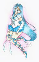 Crystal Sailor Mercury by sailorsilverfalcon