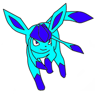 glaceon by mysterie2001