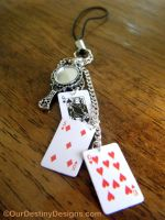 Through The Looking Glass Cell Charm by OurDestinyDesigns