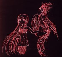 The Phoenix and all her Glory by FuneralDyingheart