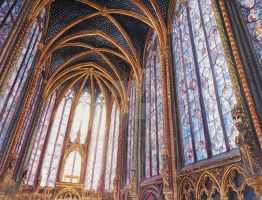 Sainte-Chapelle: The Splendor of the Middle Ages by Theophilia