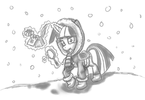Twisnow Sparkle by leadhooves