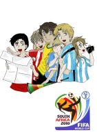 South American World Cup XD by rociocrush