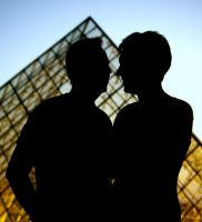 Ombres chinoises au Louvre by Telekinesy