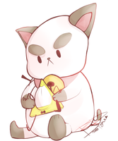 Bill and Puppycat by Br00kie-Draws