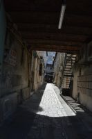 Old street in Marseille by A1Z2E3R