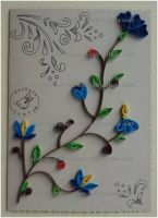 Quilling - Card 8 by Eti-chan