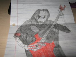 mick skeleton by Slipknotfan133