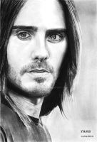jared leto by YanisDraw