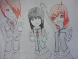 First ever Aiko Hiroshi crew drawing by bri-the-dino
