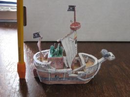 Going Merry Papercraft by ganon-destroyer