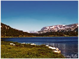 High Mountain Crystal Lake by loathsome-weasel