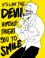 Boy, who taught you to grin? by BITEGHOST