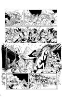 DARK AGE #1, Sample Page 2 by Theamat