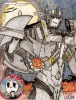 Optimus' Halloween by OPGirl106