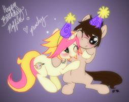 Birthday Wishes For Innate by PeachPalette