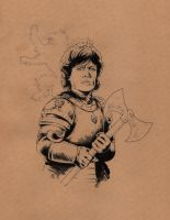Tyrion Lannister / Game of Thrones by jasonbaroody
