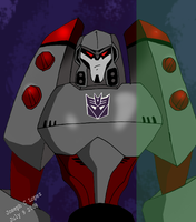 Animated Megatron by Cyberwing013