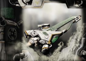 Nuke Guitar by IlGoblin