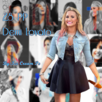 Demi Lovato PP Pack by IceCreamPS