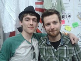 The Great TomSka... and me by Ligrano
