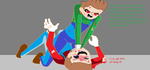 Luigi's Breaking Point by princessdaisy68