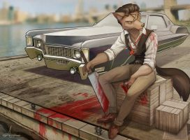 fur and car 01 by Or1s