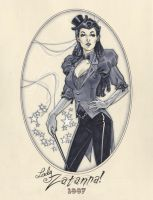 Zatanna Steam punk 1887 by MichaelDooney