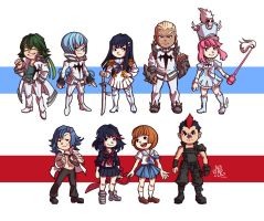 Kill la Kill - Tiny Everyone by Juneru