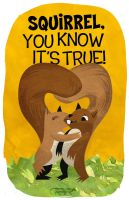 Squirrel you know it's true by gimetzco