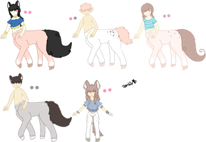 Taliyah x Amira Foals - Closed by KittehzAdopts