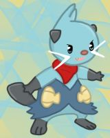 Request - Lance the Dewott by Moss-Stone