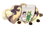 PP: Chocogram for Richard by Betachan