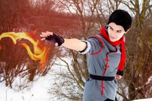 Firebender ( Mako - Avatar: Legend of Korra ) by OkariDane