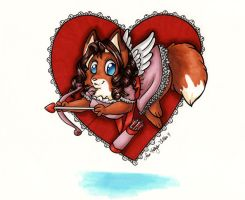 My Chibi Valentine by hollyann