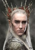 Thranduil by TheRaRaRabbit