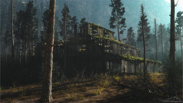 Abandoned Places by 3DLandscapeArtist