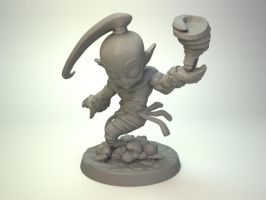 Wind Lord for Impact Miniatures by zelldweller