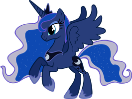 Luna in a charming pose :D by sapoltop