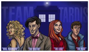Team Tardis by EmpressFunk