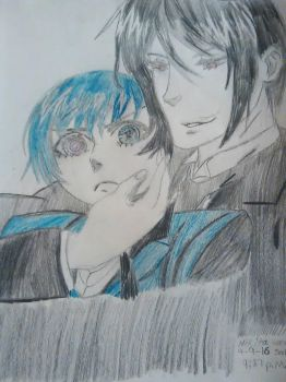 ciel and sebastian by soullover9
